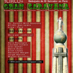 "Afiche – ""1 Circo +"" – David Duke Mental – El Salvador"